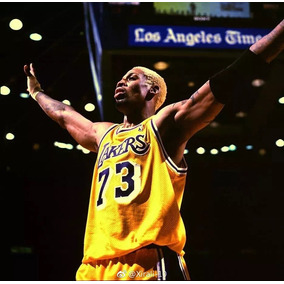 Camisa Lakers Roxa E Amarela - Camisa Masculino no Mercado Livre Brasil 2586ae61fb3c1