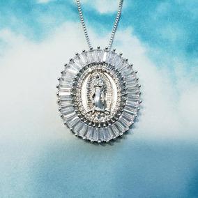 Virgen De Guadalupe Ovalada Mediana