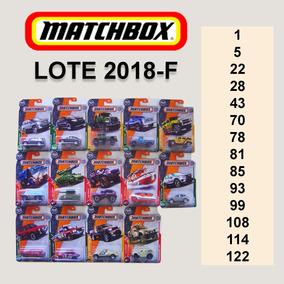 Caixa Com 14 Matchbox - Colecione Comprando Por Lote (2018)