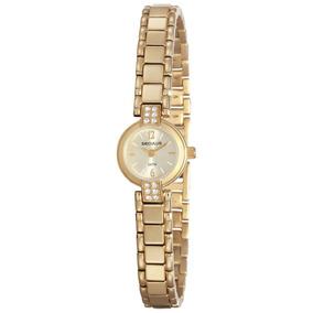 Relogio Feminino Dourado Classico - Relógios De Pulso no Mercado ... 6d98631059