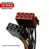 Chicote Conector Plug Soquete Fic Femea 16 Vias Universal
