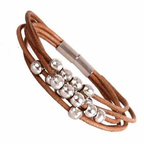 ae6482a2edad Pulsera De Cuero Con Estilo Urban Jewelry Para Mujer Color P