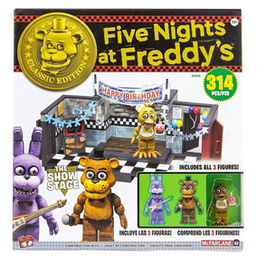 Five Nights At Freddy The Show Stage Mcfarlane 314 Pcs Lego
