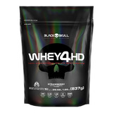 Whey 4hd Rf 837g Strawberry