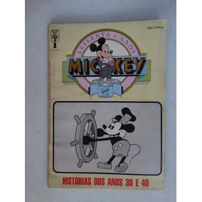 Mickey 60 Anos Nº 1! Editora Abril Set 1988!