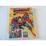 Album Superman Cromy Incompleto Pocas Pegadas