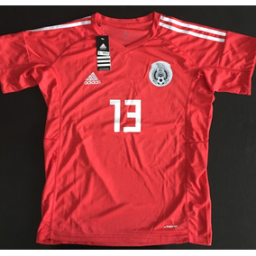 Impresionante Jersey Portero Arquero Mexico Rojo Memo Ochoa 5a19300d8951b