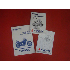 Manual - Intruder Vs1400glp + Filtro De Óleo Para Suzuki