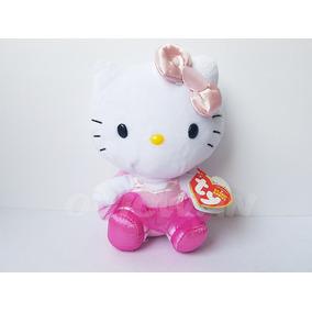 Peluche Hello Kitty 15 Cm Ballet Ty Beanie Babies Sanrio 6b19c63825