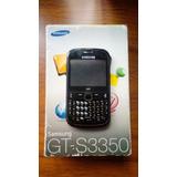 Samsung Gt-s3350 Telcel C/black