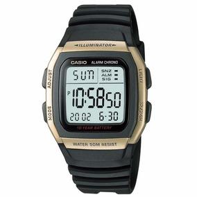 Relógio Casio Digital W-96h-9avdf Preto