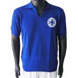 Camisa Retrô Barra Mansa Rio De Janeiro 1968 Azul + Nome