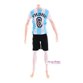 Roupa Futebol Para Boneco 1 6 Falcon Gi Joe Action Figure 43 · R  29 90 211dff19c60f8