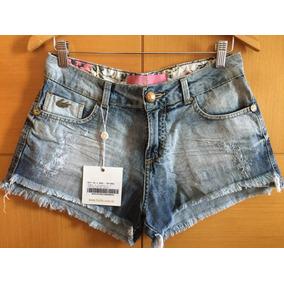 Short Jeans Ilícito, Saldão De Fábrica - Muito Barato!!!