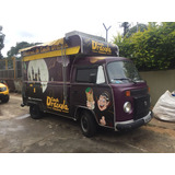 Otimo Food Truck - Kombi 2006 Com Cozinha De Apoio (urgente)
