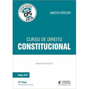 Marcelo Novelino Manual De Direito Constitucional Pdf