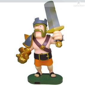 Rei Bárbaro Clash Of Clans 15cm Action Figure Coc Boneco