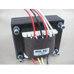 Transformador Para Rádio A Válvula Montagem Deitada