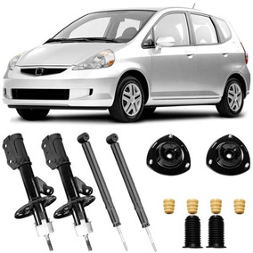 4 Amortecedor Honda Fit 2003 2004 2005 2006 2007 2008 E Kit