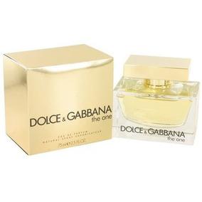 Perfume Original The One Perfum Mujer 75ml Dolce & Gabbana