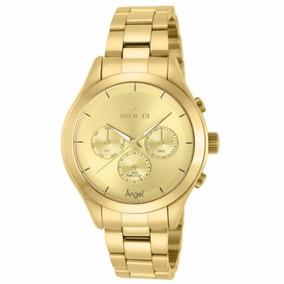 Relógio Invicta Angel 12466 - Ouro 18k