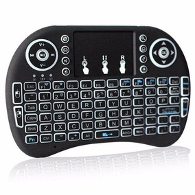 Mini Teclado Wireless Iluminado Rgb Pc Smart Tv Box Garantia