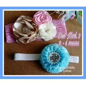Banditas De Flores Para Bebes Y Niñas De Hasta 6 Meses 0ab7df57a9b