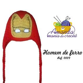 c6643f0c577d5 Touca Do Homem De Ferro - Acessórios da Moda no Mercado Livre Brasil