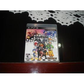 Kingdom Hearts Hd 1.5 Remix - Ps3 - Mídia Física - Semi-novo