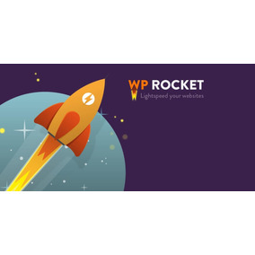 Plugin Wp Rocket - Acelere Seu Wordpress - Líder Do Mercado