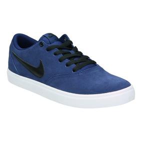 half off f230b 6924f Zapatilla Nike Sb Check Solar Azul Original Envío Gratis