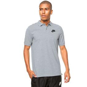 5c70d4bf3372e Camisa Gola Polo Nike Nsw Cinza Original+nf Promoção. R  120. 12x R  11. Frete  grátis