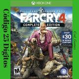 Far Cry 4 Gold Edition Xbox One Código 25 Dígitos