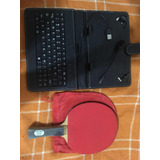 Teclado Usb Mas Raqueta Ping Pong