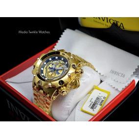 Lançamento Invicta 16805 Original B.ouro 18k