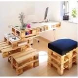 100 Projectos Construya Muebles De Pallet Casas Madera 65