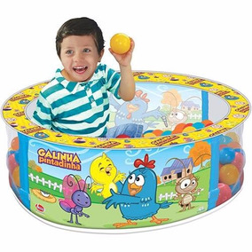 Piscina De Bolinha Galinha Pintadinha Brinquedos Infantil