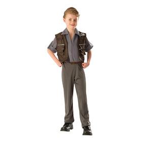 Owen Parque Jurassico Actor Disfraz Halloween Party S