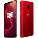 Oneplus 6 8gb 128gb Red Pronta Entrega + Brindes + Capinhas