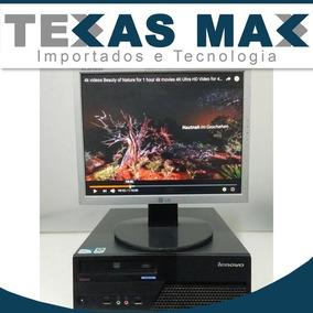 Computador Core 2 Duo + Monitor + Teclado+mouse