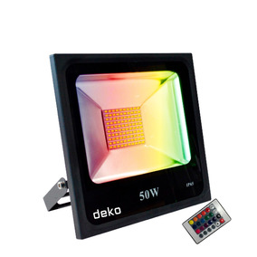 Reflector Led Rgb (50w) Multicolor Deko