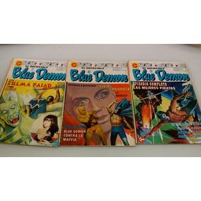 Lote 3 Gibis Bluedemon, N.11,12e 13 Frete Gratis Dos Anos 80