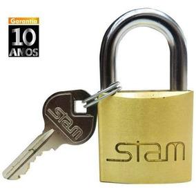 94b3a1e717589 Cadeado Stam 35mm Segredo - Segurança para Casa no Mercado Livre Brasil