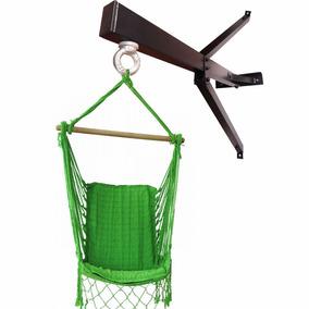 Gancho/suporte Para Rede Cadeira De Balanço De Parede