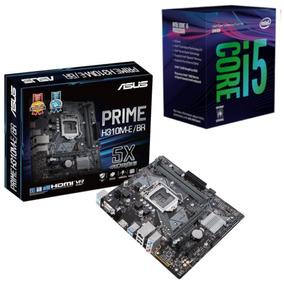 Kit Combo Processador Intel I5 8400 + Placa Asus H310m E Br