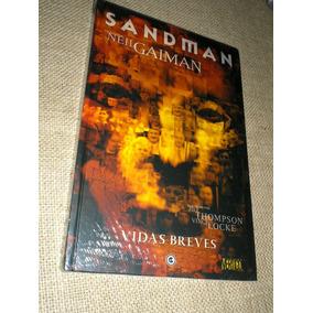 Sandman - Vidas Breves - Lacrada - Capa Dura - Heroishq
