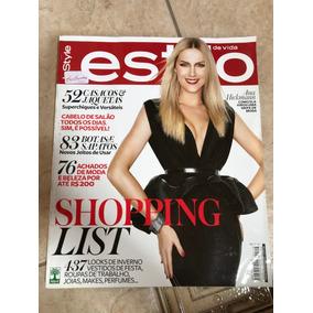 5a45eace7c026 Revista Estilo 116 Ana Hickmann Carlos Casagrande Ano 2012