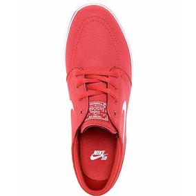 huge discount 35240 244c9 Nike Sb Stefan Janoski Rojo Para Mujer 100% Original