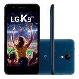 Celular Lg K9 Tv Lmx210bmw Azul