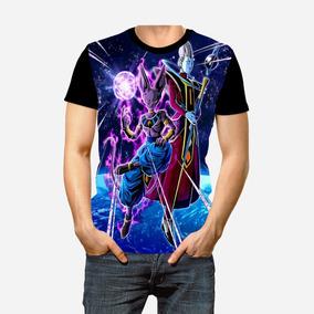 3ee5e608e Camisa Camiseta Dragon Ball Z Bills Deus Da Destruição Full